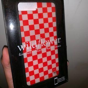 Wildflower Checkered Case